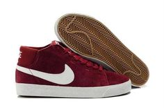online retailer 26361 6f6e4 Now Buy Nike Blazer Mid Suede Mens Deep Red White Shoes Online Save Up From Outlet  Store at Footlocker.