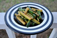 Zucchini Just Like in Japanese Rastaurants! {With Recipe} !!!! I'm so excited I found this!!!!!!