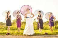 come rain or shine the wedding will prevail