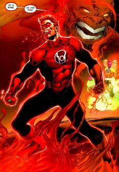 Red Lantern Hal Jordan