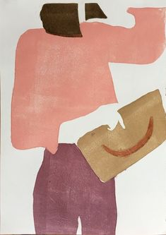 Renée Gouin creates abstract and modern fashion paintings in beautiful color palettes. She seeks her inspiration from Japanese woodblock prints. Collage Artists, Collages, Fashion Paintings, Art Graphique, Art Inspo, Watercolor Art, Design Art, Art Photography, Art Drawings