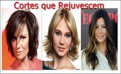 Cortes de Cabelo que Rejuvenescem - Tudo que Você Precisa Saber !   Veja : http://www.aprendizdecabeleireira.com/2015/08/cortes-de-cabelo-que-rejuvenescem-tudo.html