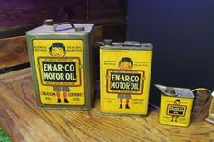 Enarco Motor Oil Can Collection