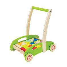 Block and Roll by Hape | Play Kids, www.playkidsstore.com