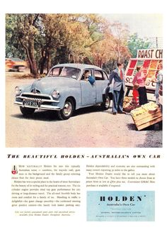 Holden Australia, Holden Monaro, Australian Cars, Car Posters, Dream Machine, Gmc Trucks, Vintage Cars, Classic Cars, Advertising