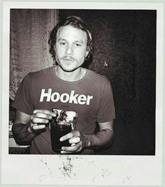 Heath Ledger, my fashion icon.