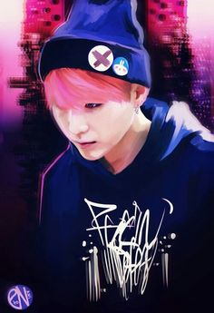 Suga BTS fanart ❤. So awesome