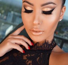 beautiful, looking to master that wing liner; come stop by Top Level Salon for some makeup lessons!!  #TopLevelSalon
