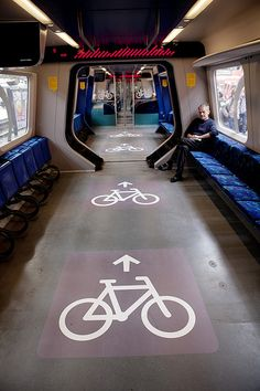 "Since 2010, the train network in Denmark (S-Train) allows cyclists to bring their bikes on the train, for free. Now this would probably be considered insane this side of the world, but the idea is a ""a growing success"", and they're trying to make it even better. S-Train is remodeling 10 trains to accommodate twice as many bikes."