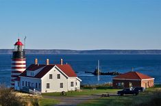 Lubec, Maine - The easternmost town in the contiguous United States.