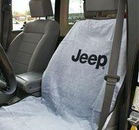 Jeep seat towels.. Okay that's pretty cool!