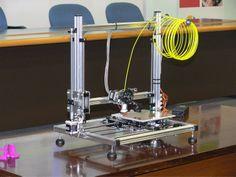 Primo piano stampante 3D