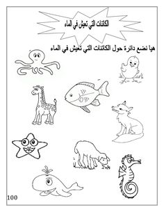 Arabic Alphabet Pdf, Alphabet Book, Alphabet Tracing Worksheets, Kids Math Worksheets, School Coloring Pages, Alphabet Coloring Pages, Learn Arabic Online, Kindergarten Lessons, French Language Learning