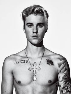 Justin Bieber Discusses Hailey Baldwin Relationship with 'GQ': Photo Justin Bieber shows off his shirtless body in this brand new image from GQ magazine's March 2016 issue, on newsstands February In the issue, the Fotos Do Justin Bieber, Justin Bieber Photoshoot, Justin Bieber Tattoos, Justin Bieber Pictures, I Love Justin Bieber, Justin Bieber Official, Justin Tattoo, Hailey Baldwin, Justin Bieber Wallpaper