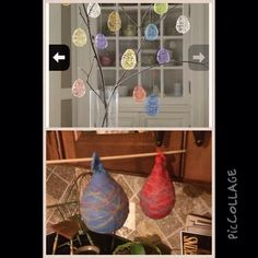 Yarn wrapped balloons are up for the #pinterestfail award.