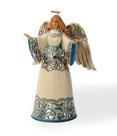 Blue and Silver angel