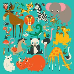 http://lillarogers.com/wp-content/gallery/amy-blay/amy_1110937_animals_of_the_world_puzzle.jpg