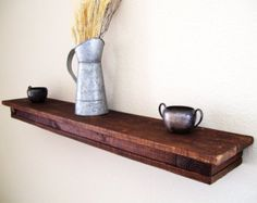 Wall Shelf Floating Shelf Book Shelf Bathroom By SimplyPallets