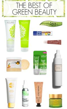 The best green beauty buys that actually work