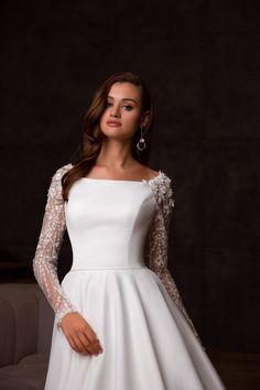 Fancy Wedding Dresses, Sheer Wedding Dress, Wedding Dress Sleeves, Lace Sleeves, Bridal Dresses, Prom Dresses, Tulle Dress, Lace Dress, Evening Dresses With Sleeves