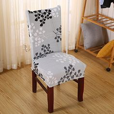 Yiwant Super Fit Stretch Removable Washable Short Dining Chair Cover  Protector Seat Slipcover For HotelDining RoomCeremonyetc