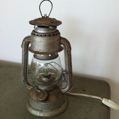 Add this outside instead of a tiki torch!  Vintage Portuguese lantern/Petromax HIPOLITO N 150 by Lalices, $38.00