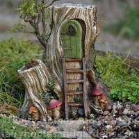 Miniature Hollow Wood Hut