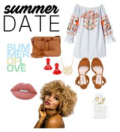 """""""Untitled #568"""" by beautybqueen ❤ liked on Polyvore featuring Free People, Miu Miu, Kate Spade, Lord & Taylor, Lime Crime and Marc Jacobs"""