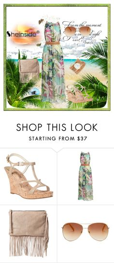 """Sheinside dress"" by elci-el ❤ liked on Polyvore featuring MICHAEL Michael Kors, MANGO, Tommy Hilfiger and ZALORA"