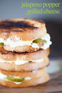 Jalapeno Popper Grilled Cheese @FoodBlogs