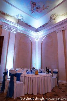 Оформление дворца на свадьбу в Спб