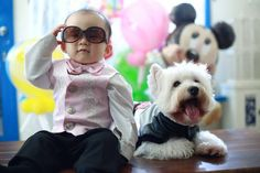 .baby and Westie
