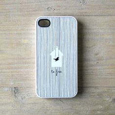 iPhone case Cage bird iPhone 4/4S case white  white by Pillosophie, €12.00