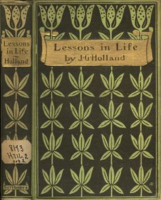 Lessons in Life : Old Book Cover