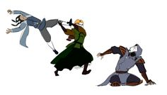 How Avatar Kyoshi would have handed it ...