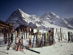 Kleine Scheidegg, Switzerland Photographie
