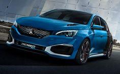 Peugeot 308 R Hybrid: A hot-hatch concept Peugeot 308 R, Psa Peugeot, Shanghai, 308 Gti, Console Centrale, Affordable Sports Cars, Auto News, Car Photography, Car Rental