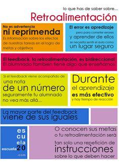 7 claves sobre la retroalimentación (feedback) en el aula | IPAD, un nuevo concepto socio-educativo! | Scoop.it