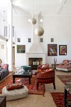6 Ways to Style a Cozy Throw: Across the Floor