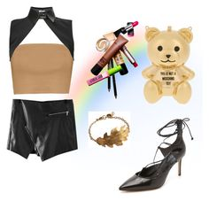 """""""Untitled #151"""" by sar-rab on Polyvore featuring Michael Kors, Moschino, Neat Collar, women's clothing, women, female, woman, misses and juniors"""