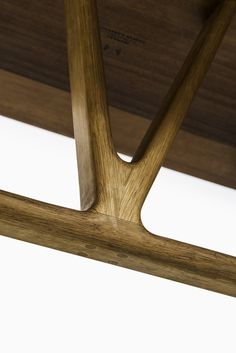 Hans Wegner wishbone desk by Johannes Hansen at Studio Schalling