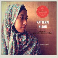Spring Garden - square #hijab