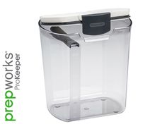 Shop for Basicwise Green/Clear BPA-free Plastic Food Saver Kitchen Food Cereal Storage Containers. Get free delivery On EVERYTHING* Overstock - Your Online Kitchen & Dining Shop! Flour Storage Container, Food Storage Containers, Kitchen Containers, Cereal Storage, Plastic Storage, Sugar Storage, Spice Storage, Easy Storage