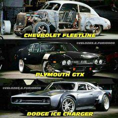 Carros que o Dom Toretto pilotou em The Fate of The Furious, qual você mais gostou? #TheFastandTheFurious  #2Fast2Furious  #TokyoDrift  #FastandFuriou... - VELOZES E FURIOSOS (@velozes.e.furiosos)