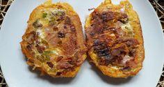 Rántotta melegszendvics | APRÓSÉF.HU - receptek képekkel Baked Potato, Potatoes, Baking, Ethnic Recipes, Food, Bread Making, Patisserie, Potato, Essen