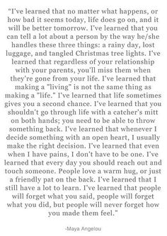 Beautiful quote about life and love.  Love love love it.