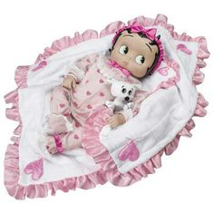 Betty Boop Merchandise at Walmart | Betty Boop™ Itty Bitty Betty Collector Doll