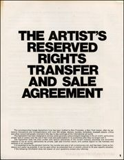 MomaOrg  Seth Siegelaub The ArtistS Reserved Rights Transfer