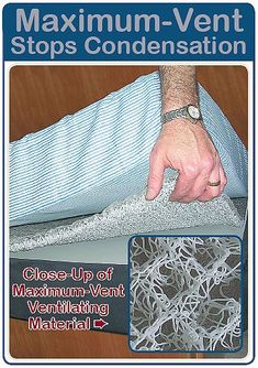 Maximum-Vent Stops Condensation-Welcome Aboard Sailboat Living, Living On A Boat, Liveaboard Sailboat, Boat Bed, Boating Tips, Sailboat Interior, Boat Decor, Boat Storage, Cabin Cruiser