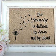Blended Family – Blended Family Gift – Blended Family Sign – Blended Family Wedding Gift – Stepmother Gift – Step Family – Housewarming Gift Compare registros de casamento ID do produto: 8784412841 – Diy Gifts For Kids, Gifts For Family, Gifts For Stepmom, Family Gift Ideas, Family Crafts, Blended Family Pictures, Quotes About Blended Families, Top Wedding Photographers, Printing On Burlap